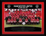 Manchester United - Team 16/17 Wydruk kolekcjonerski