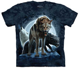 Patrick Ollilia- Bad Moon Wolves T-shirts