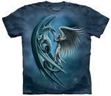 Anne Stokes- Angel & Dragon T-skjorte