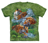 Youth: Water Tiger Collage T-shirts