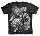 Youth: Tami Alba- Majestic White Tigers T-Shirt