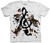Rocio Malave- Music Kittens T-Shirts