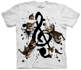 Rocio Malave- Music Kittens T-shirts