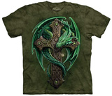 Anne Stokes- Woodland Guardian T-skjorte