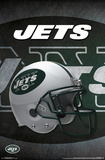 NFL: New York Jets- Logo Helmet 16 Prints