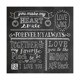 Inspiration Chalkboard I Prints by Mary Urban