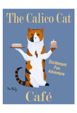 The Calico Cat Café Limited Edition by Ken Bailey