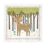 Woodland Hideaway Deer Prints by Moira Hershey