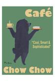 Café Chow Chow 限定版アートプリント : ケン・ベイリー
