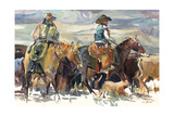 The Roundup Poster by Marilyn Hageman