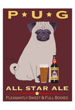 Pug All Star Ale Limited Edition by Ken Bailey