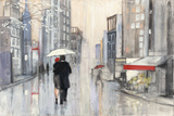 Spring Rain New York Print by Julia Purinton