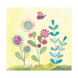 Pattys Garden III Prints by Courtney Prahl