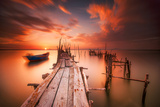 Red Sunset at Carrasqueira, Alentejo Wall Mural by Andy Mumford
