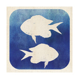 Watermark Fish Prints by  Studio Mousseau