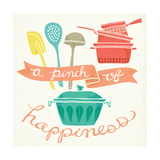 A Pinch of Happiness Prints by Mary Urban