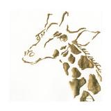 Gilded Giraffe Art by Chris Paschke