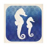 Watermark Seahorse Posters by  Studio Mousseau