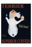 Terrier Superior Coffees Limitierte Auflage von Ken Bailey