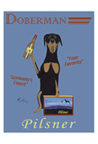 Doberman Pilsner Limited Edition by Ken Bailey