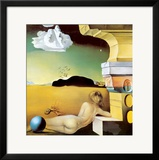 Wall Decoration for Helena Rubinstein, c.1942 Prints by Salvador Dalí