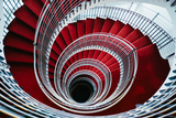 Spiral Staircase, Nordic Style and Design Hilton Reykjavik Iceland Photographic Print by Vincent James