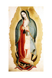The Virgin of Guadalupe, Museo de America, Madrid, Spain Giclee Print by Miguel Cabrera