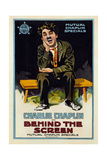 Behind the Screen, 1916 Giclee Print