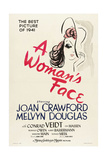 A Womans Face, 1941 Giclee Print