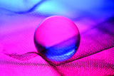Neon Ball Photographic Print by Heidi Westum