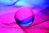 Neon Ball Photographic Print by Heidi Westum