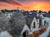 Alberobello Sunset Photographic Print by Marco Carmassi