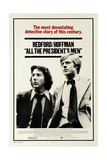 All the Presidents Men, 1976 Giclee Print