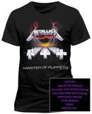 Metallica- Master of Puppets (Slim Fit Front/Back) Tričko