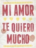 Mi Amor Giclee Print by Clara Wells