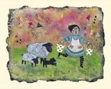 Baa, Baa Giclee Print by Barbara Olsen