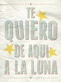 Te Quiero Giclee Print by Clara Wells