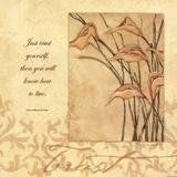 Trust - Lilies Poster von Stephanie Marrott