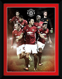 Manchester United - Players 16/17 Collector Print