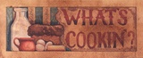 What's Cookin' Print by Diane Knott