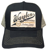 Waylon Jennings- Outlaw Country Snapback Hat
