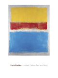 Untitled (Yellow, Red and Blue) Giclee Print by Mark Rothko