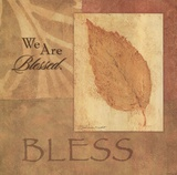 Bless - Leaf Art by Stephanie Marrott