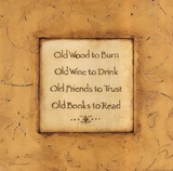 Old Wood To Burn Art by Stephanie Marrott