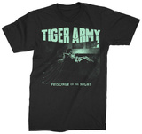 Tiger Army- Prisoner Of The Night Tee (Glow In The Dark) T-shirts