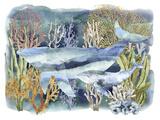 Marine Isle Giclee Print by Tania Bello