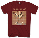 Touche Amore- Stage Four Album Art T-shirts