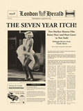 The Seven Year Itch Giclee Print by  The Vintage Collection