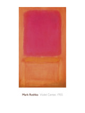 Violet Center, 1955 Giclee Print by Mark Rothko