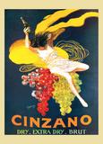 Cinzano Brut Vintage Ad Poster by Leonetto Cappiello